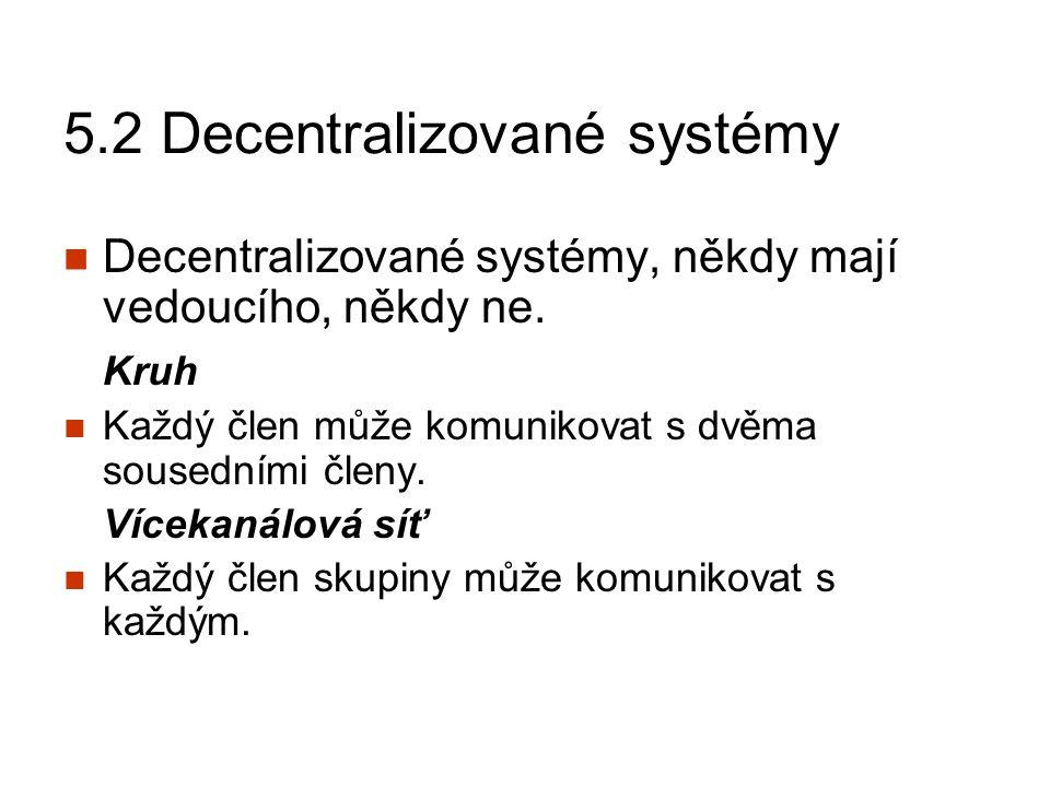 5.3 Účinnost jednotlivých typů sítí Který typ sítě je nejúčinnější při řešení problému.