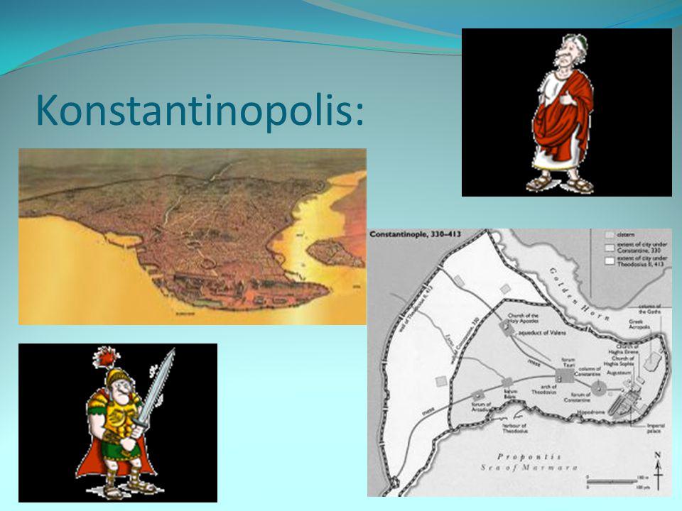 Rozpad říše: Theodosius – poslední císař, který vládl v jednotné říši Po jeho smrti se r.