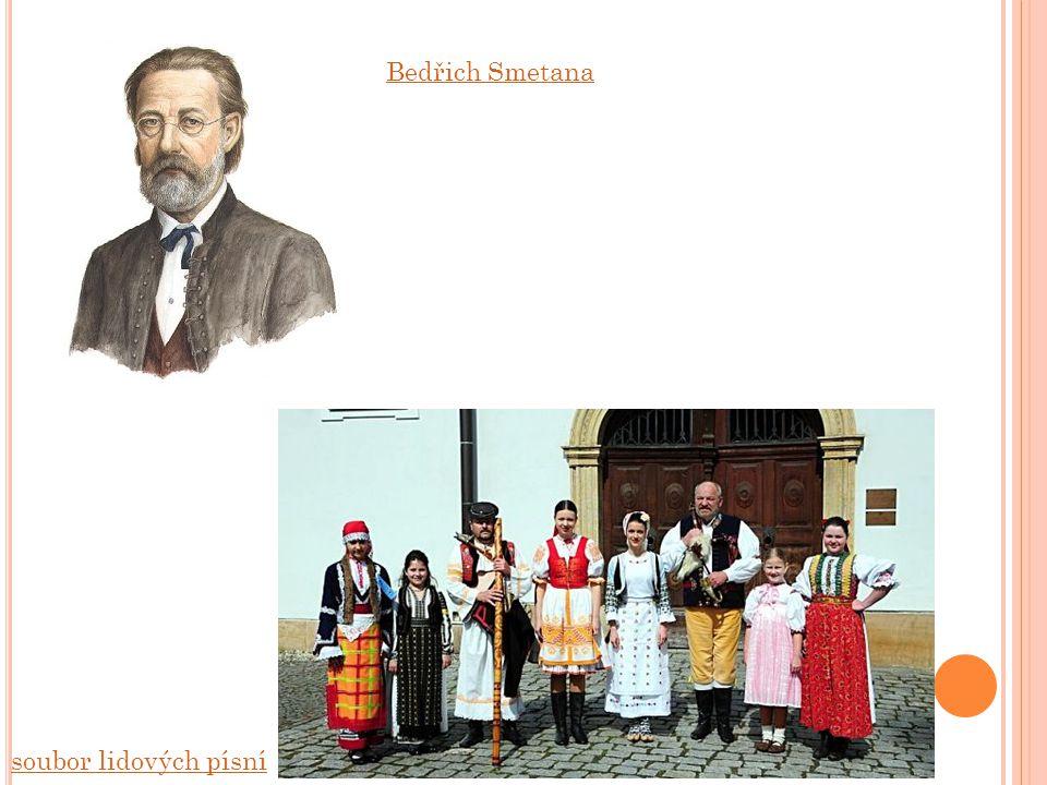 soubor lidových písní Bedřich Smetana