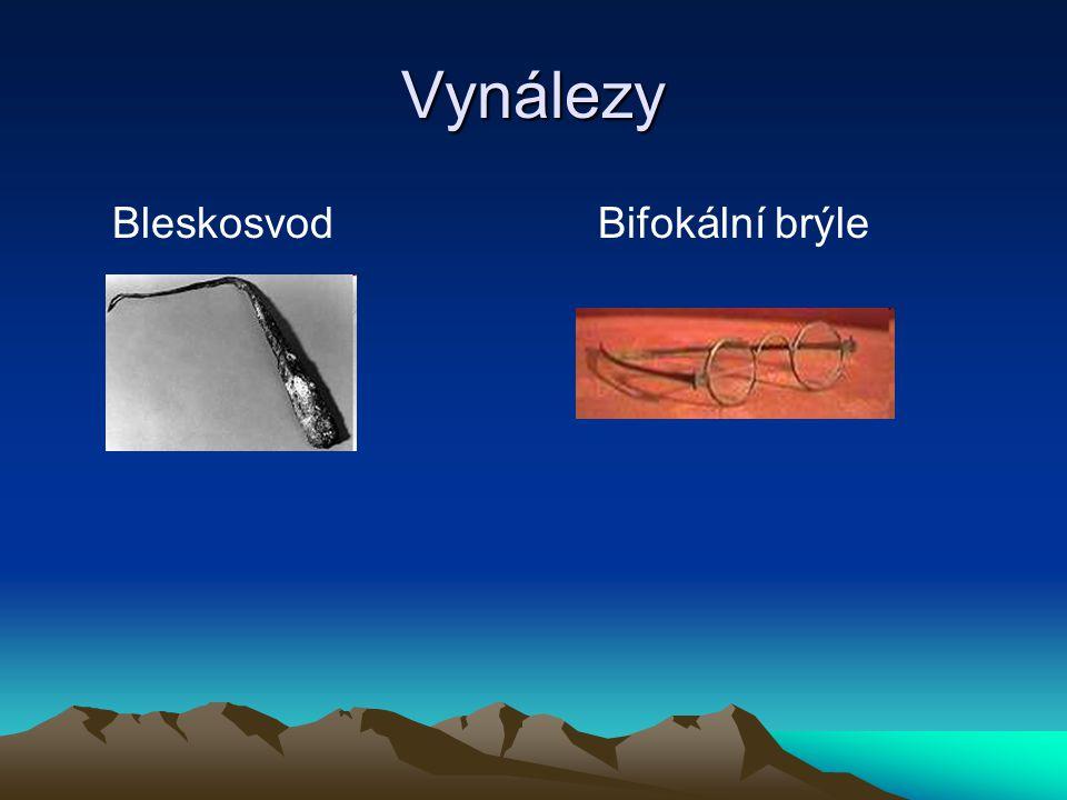 Vynálezy BleskosvodBifokální brýle