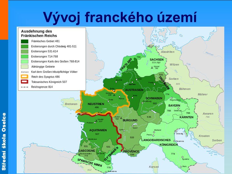 Střední škola Oselce Vývoj franckého území