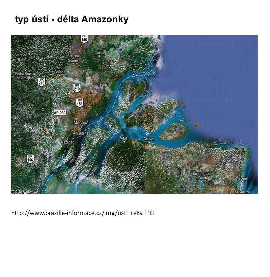 http://www.brazilie-informace.cz/img/usti_reky.JPG typ ústí - délta Amazonky