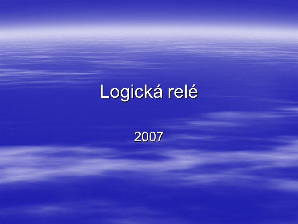 Logická relé řady CL – nový sortiment Spínání,řízení a komunikace Nástupce AC010