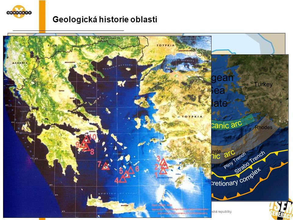 Geologická historie oblasti