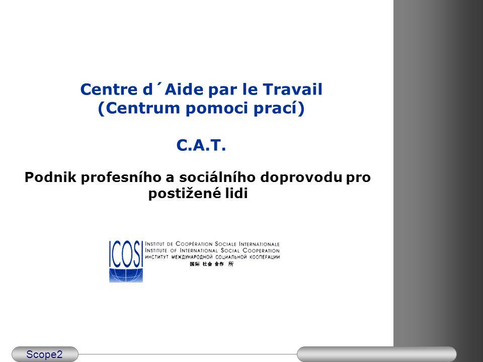 Scope2 Program semináře centru CAT v České republice – listopad 2003 Středa 19.
