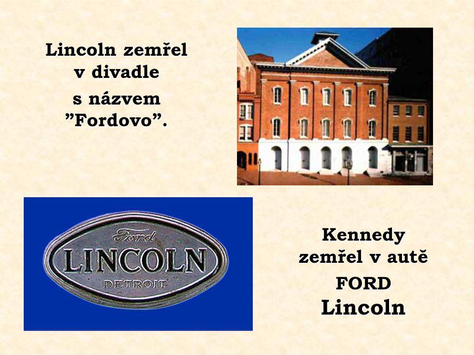 Sekretářka Lincolna se jmenovala Kennedy. Sekretářka Lincolna se jmenovala Kennedy. Sekretářka Kennedyho se jmenovala Lincoln.