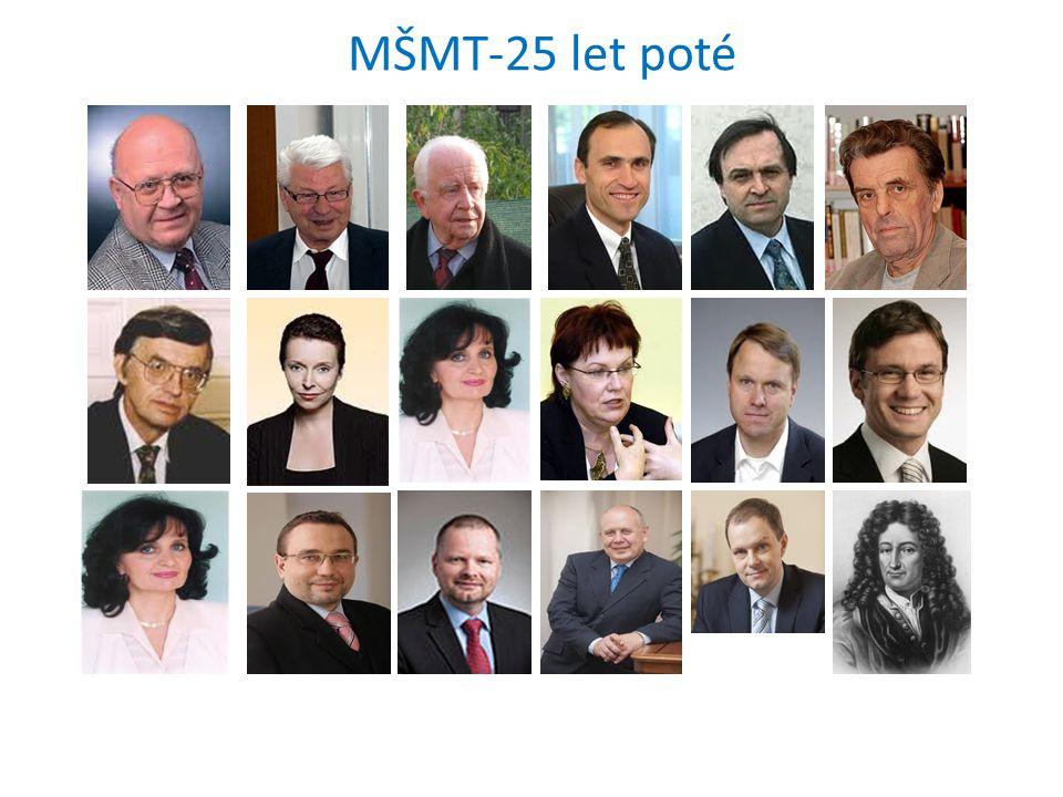 MŠMT-25 let poté