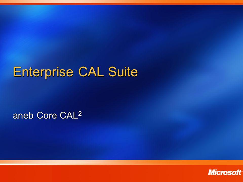Enterprise CAL Suite aneb Core CAL 2