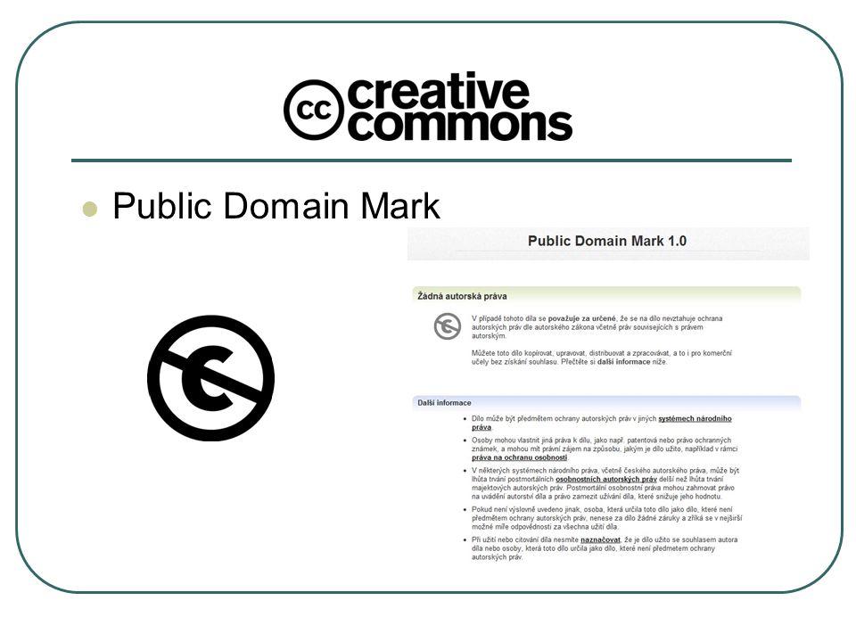 Public Domain Mark