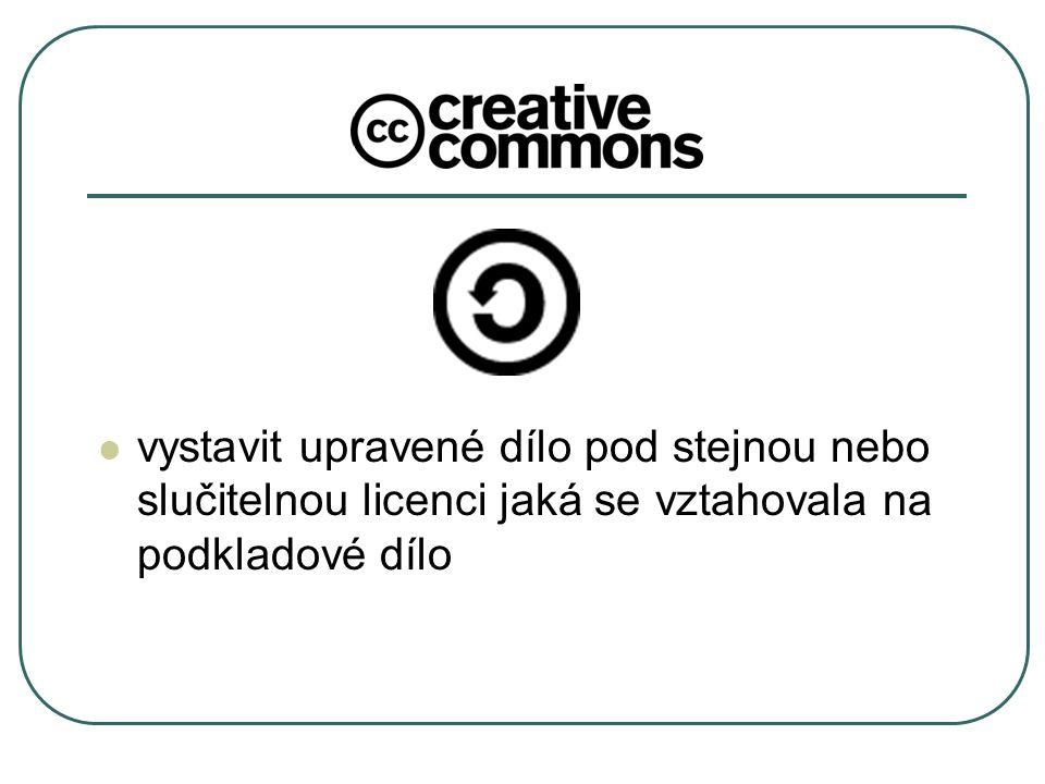 Česká verze CC licencí spuštěny 16.4.2009 V národním jazyce Přizpůsobeny právnímu řádu České republiky ČR jako 52.