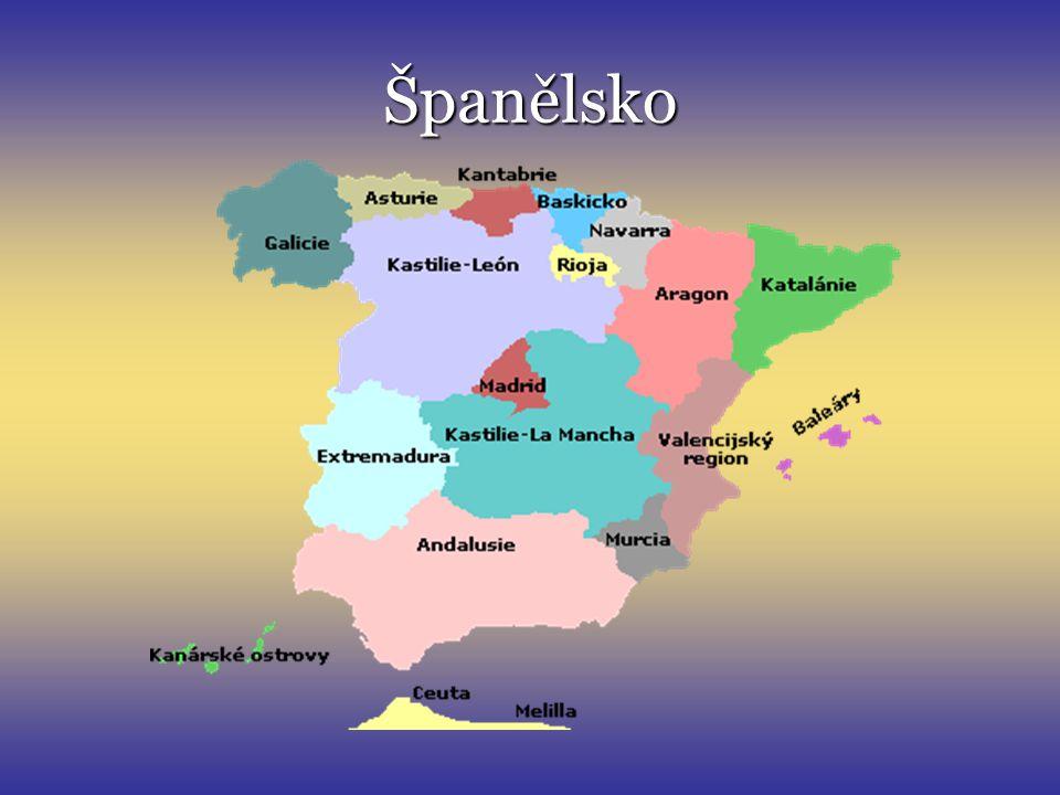 Španělské království Státní zřízení: konstituční monarchie Král: Juan Carlos I.