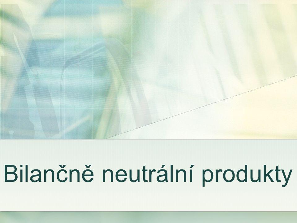 Bilančně neutrální produkty