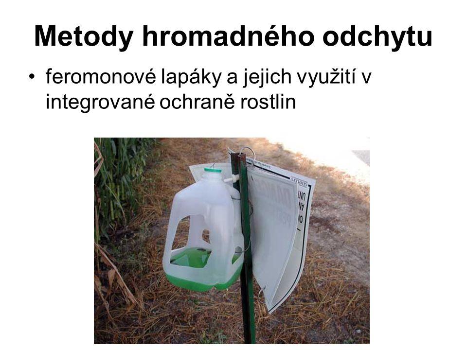Metody hromadného odchytu feromonové lapáky a jejich využití v integrované ochraně rostlin