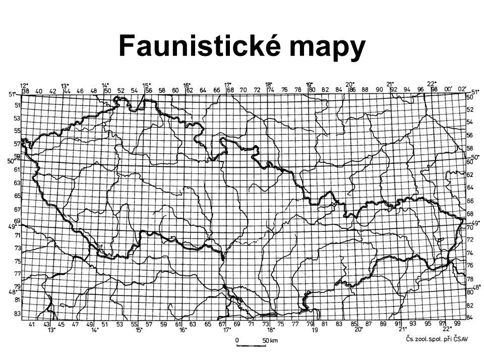 Faunistické mapy