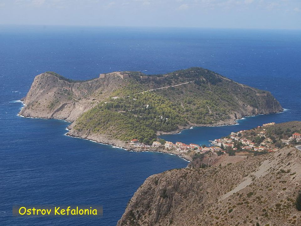 Ostrov Kefalonia