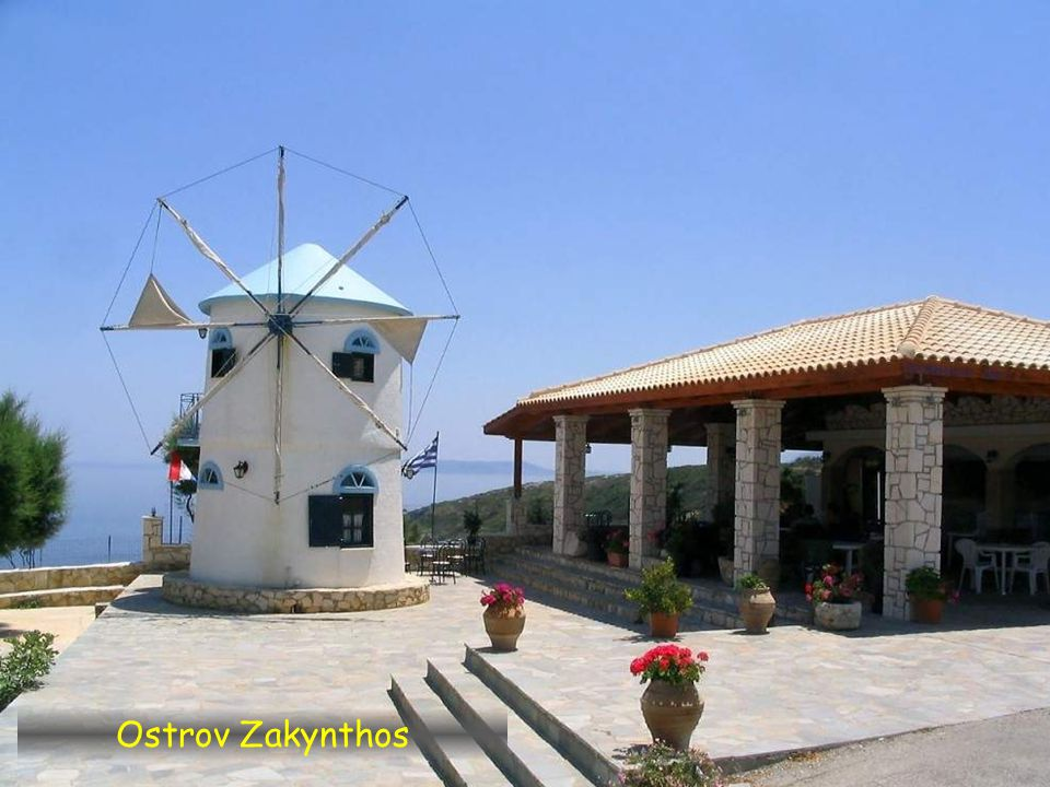 Skinari, ostrov Zakynthos