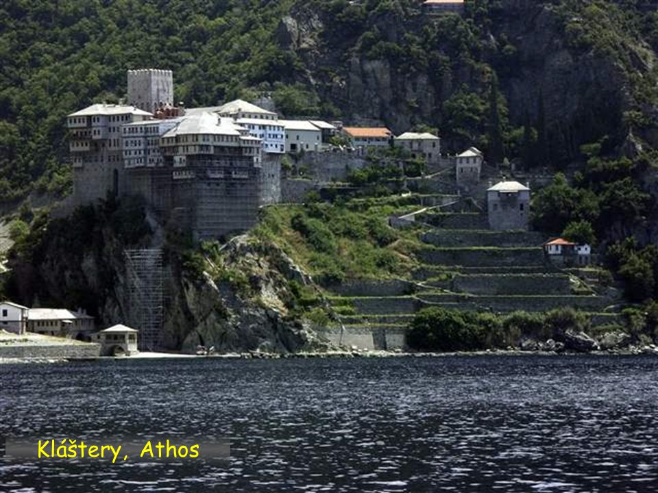 Klášter Stavronikita, Athos