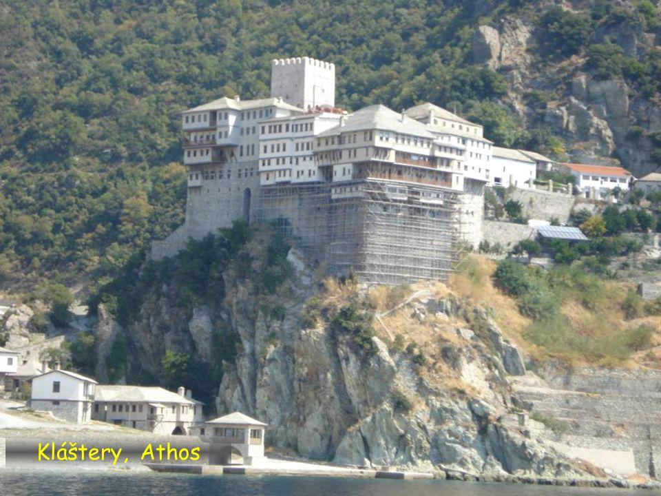 Kláštery, Athos
