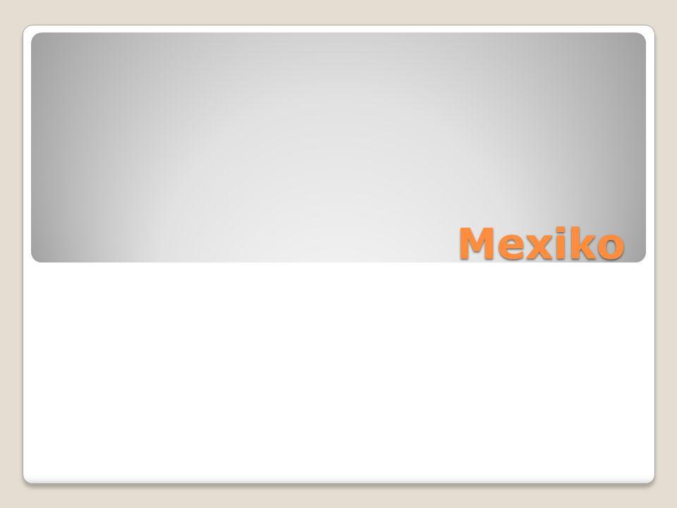 Plným názvem Spojené státy mexické Federativní republika Bývá řazena jak k Severní, tak ke Střední Americe Člen NAFTA, OSN, LIZ, OAS