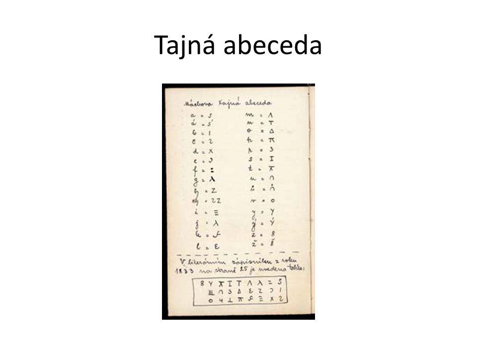 Tajná abeceda