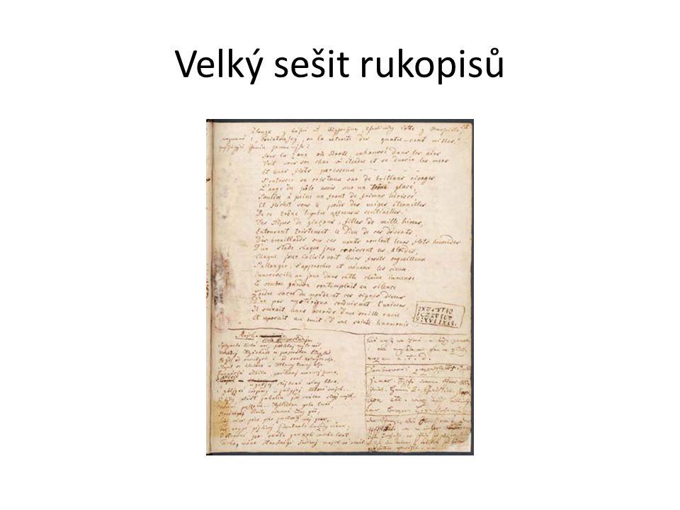 Velký sešit rukopisů