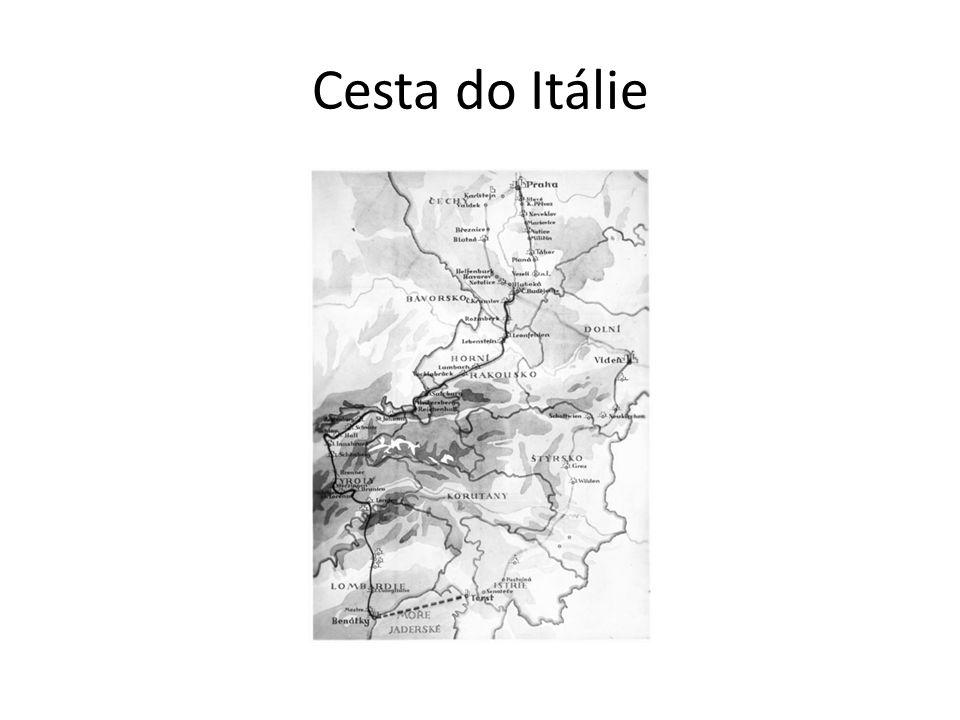 Cesta do Itálie