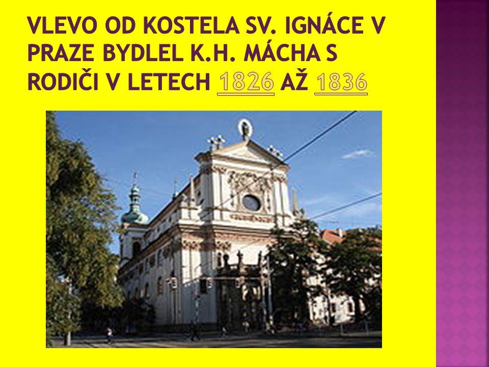  V prosinci 1831 vychází v časopise Večerní vyražení první Máchův text, báseň Svatý Ivan.