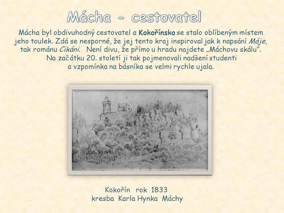 Cikáni Román Cikáni se odehrává v okolí Kokořína. Složitý děj částečně připomíná Máchův Máj (např. zhýralý otec svede milou vlastního syna). Postavy C