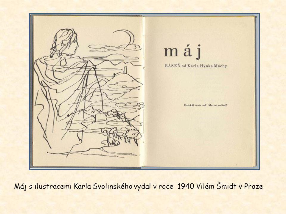 Máj s ilustracemi Mikoláše Alše vydal v roce 1936 Evropský literární klub v Praze
