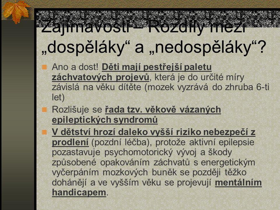"""Zajímavosti – Rozdíly mezi """"dospěláky a """"nedospěláky ."""