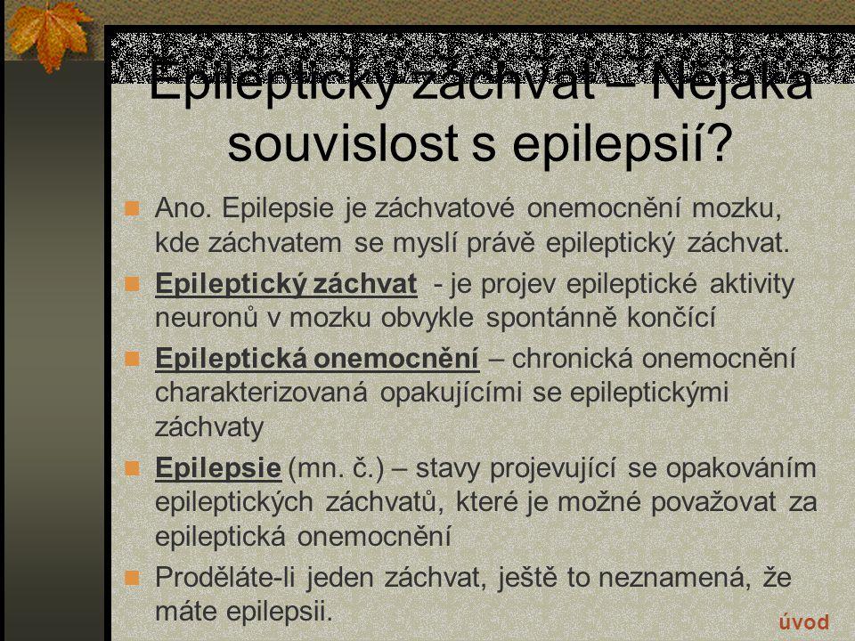 Léčba epilepsie 4 Vzhledem k tomu, že například vaše dítě nedostane epileptický záchvat zrovna na prohlídce u lékaře, je potřeba jeho záchvaty pozorně sledovat, abyste je pak mohli lékaři detailně popsat.
