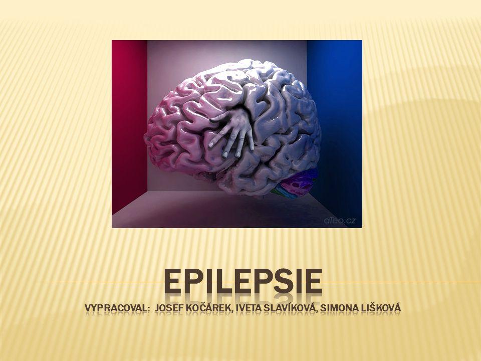  Mozek  Co to je epilepsie  První zmínky o epilepsii  Rozdělení  Diagnostika  Léčba  První pomoc
