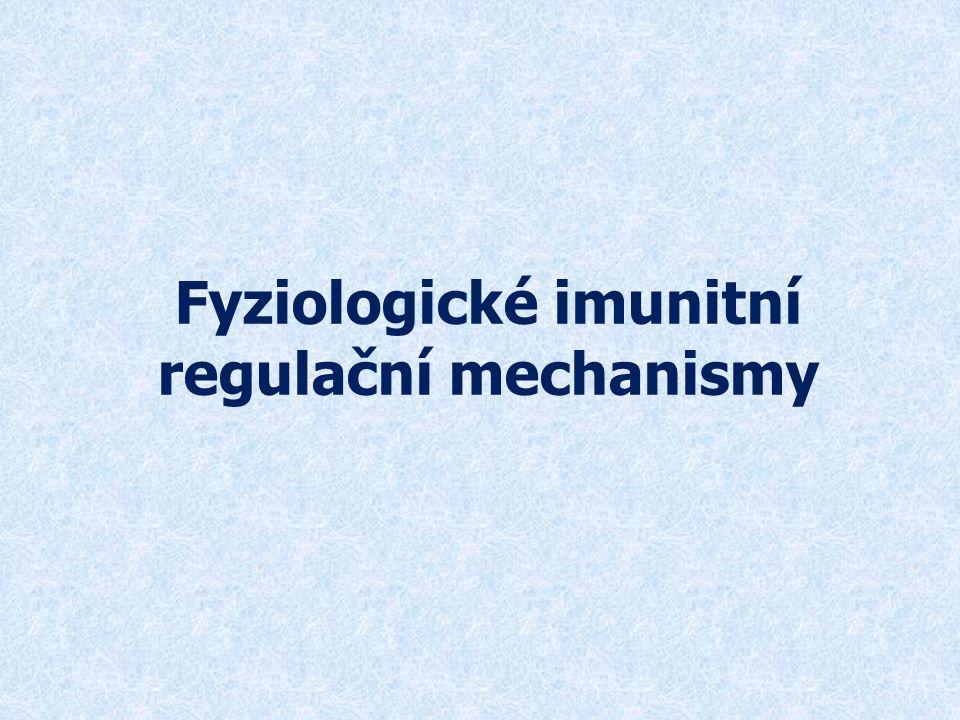 Fyziologické imunitní regulační mechanismy