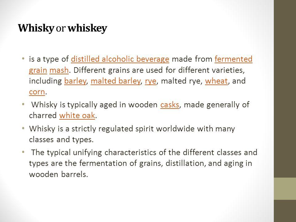 ZDROJE http://commons.wikimedia.org/wiki/Scotch_whisky?uselang= cs