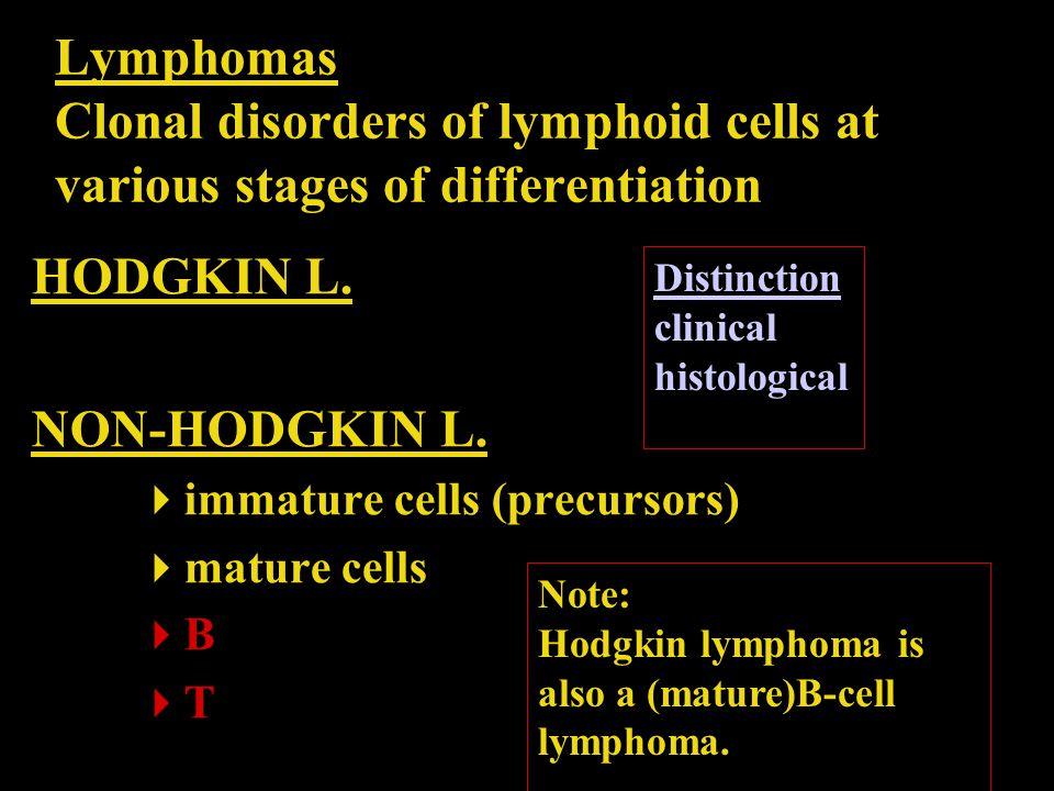 Lymphoid malignancies Epidemiology 90%: B; FL+ DLBCL – 60% 4% of all new cancers each year Incidence increasing per 100 000: 34 lymphoid neoplasms