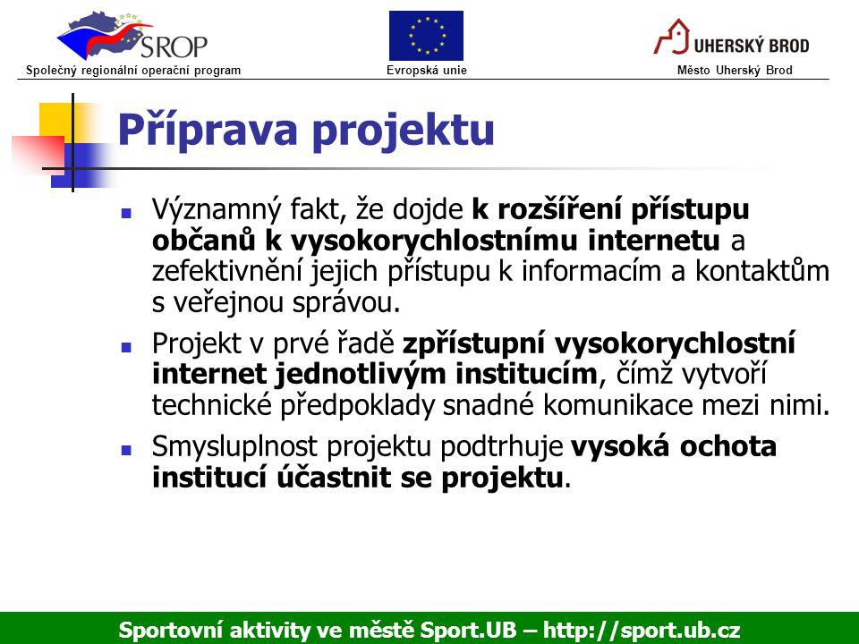 Příprava projektu Významný fakt, že dojde k rozšíření přístupu občanů k vysokorychlostnímu internetu a zefektivnění jejich přístupu k informacím a kon
