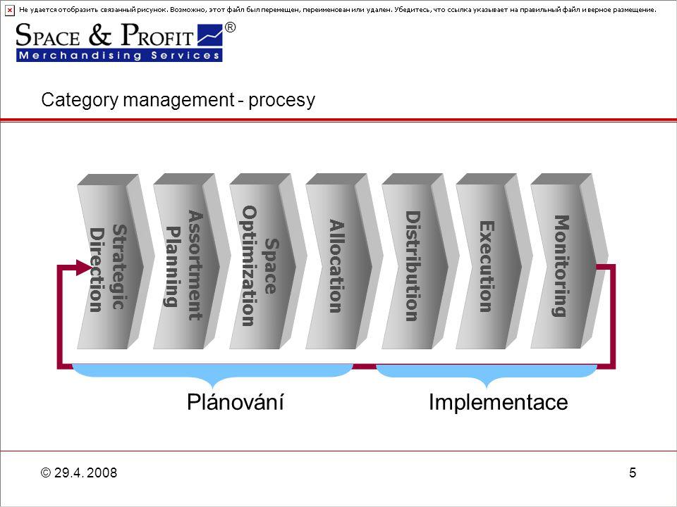 ® © 29.4. 200816 Příklad situace dodavatele – Kvalitativní ukazatele Soft Drinks