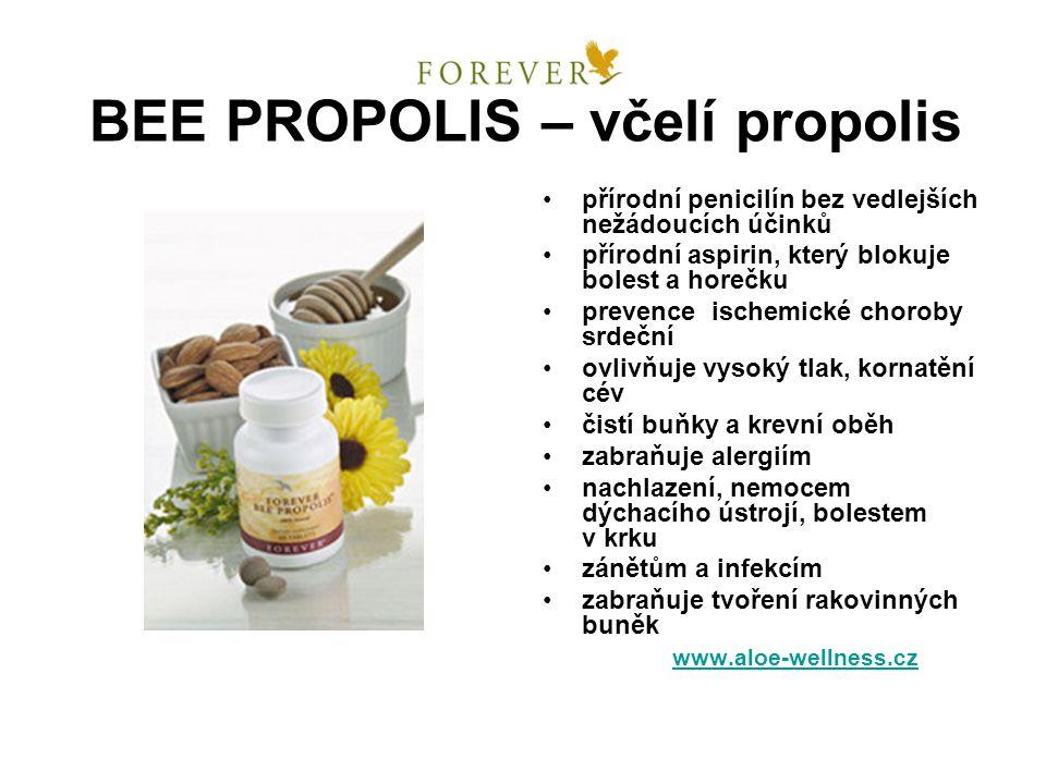 BEE PROPOLIS – včelí propolis přírodní penicilín bez vedlejších nežádoucích účinků přírodní aspirin, který blokuje bolest a horečku prevence ischemick