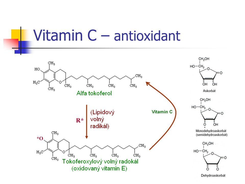Vitamin C – antioxidant