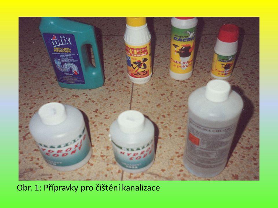 Výrobky z mědi a jejích slitin Obr. 1: Přípravky pro čištění kanalizace