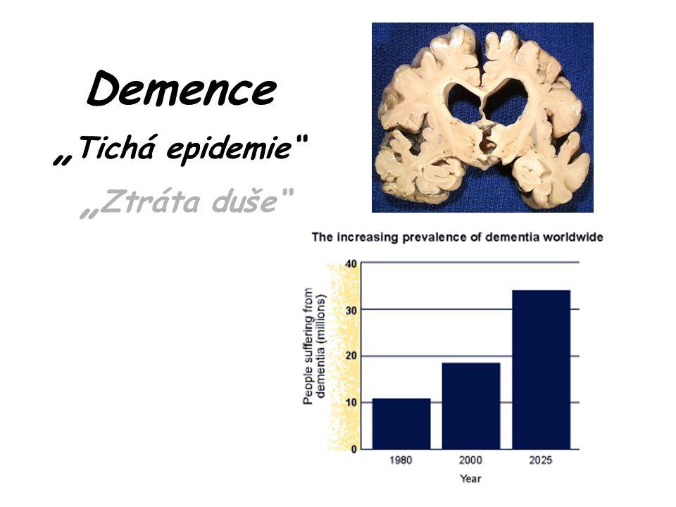 """Demence """" Tichá epidemie """" Ztráta duše"""