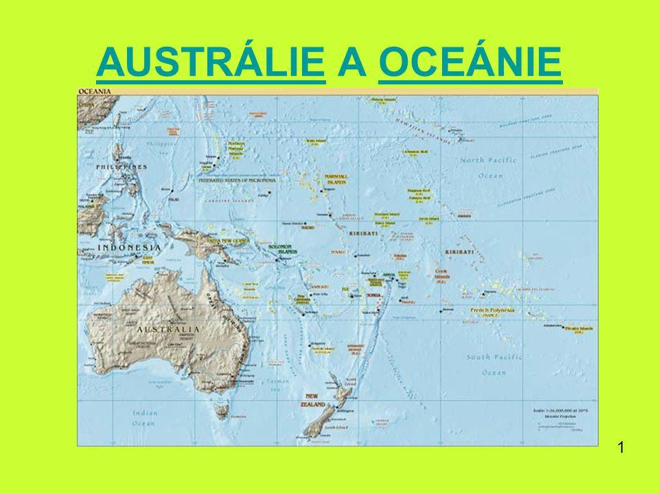 AUSTRÁLIEAUSTRÁLIE A OCEÁNIEOCEÁNIE 1