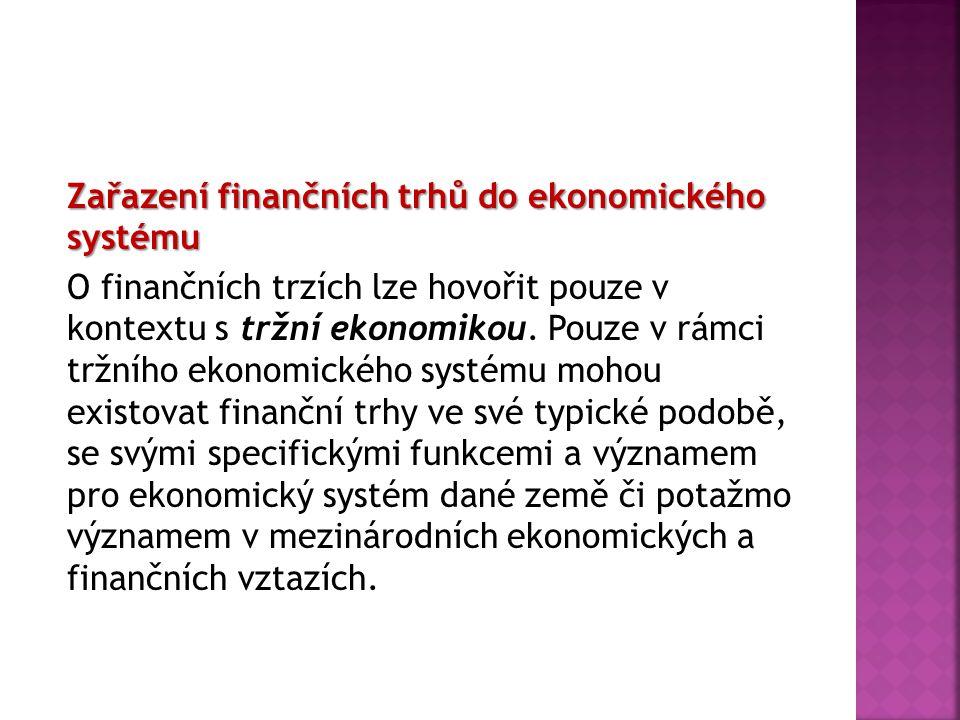  Oproti tomu za institucionálního investora se podle české právní úpravy považují:  obchodník s cennými papíry,  banka,  pojišťovna,  zajišťovna,  investiční společnost,  investiční fond,  penzijní fond,  provozovatel platebního systému,  provozovatel vypořádacího systému,  osoba, která vydává a spravuje platební prostředky,  osoba, která podnikatelsky poskytuje finanční pronájem (finanční leasing),  osoba, jejíž rozhodující činností je nabývání účasti na jiných společnostech,  osoba, která podnikatelsky poskytuje záruky,  obchodní společnost,  zahraniční osoba, která odpovídá některé z osob uvedených v předchozích bodech,  stát nebo členský stát federace,  Česká národní banka, zahraniční centrální banka nebo Evropská centrální banka,  mezinárodní finanční instituce.