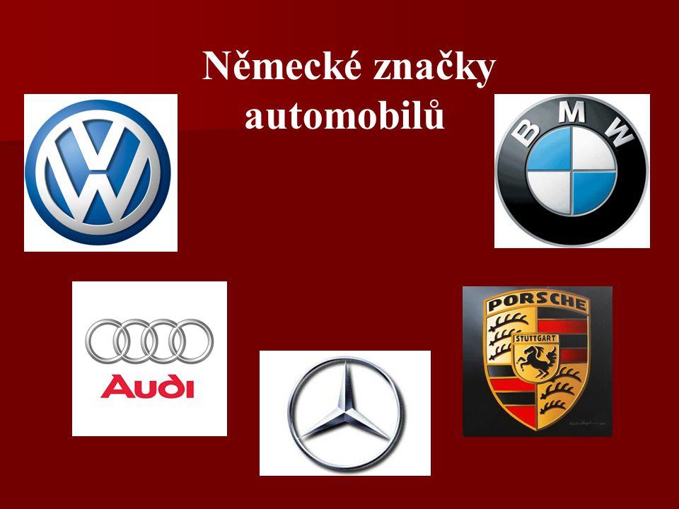 Německé značky automobilů