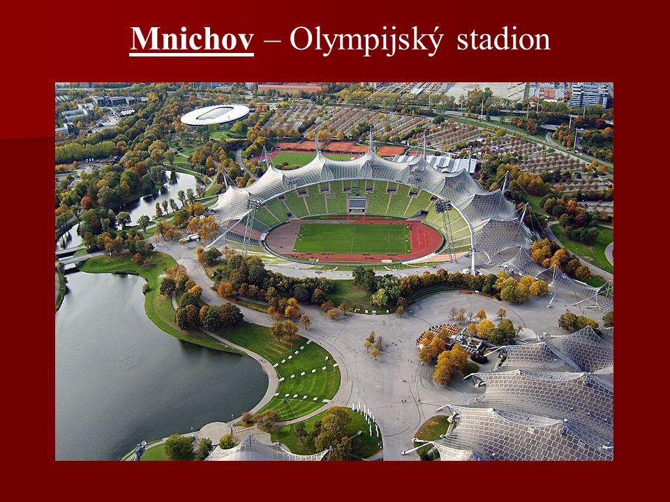 Mnichov – Olympijský stadion