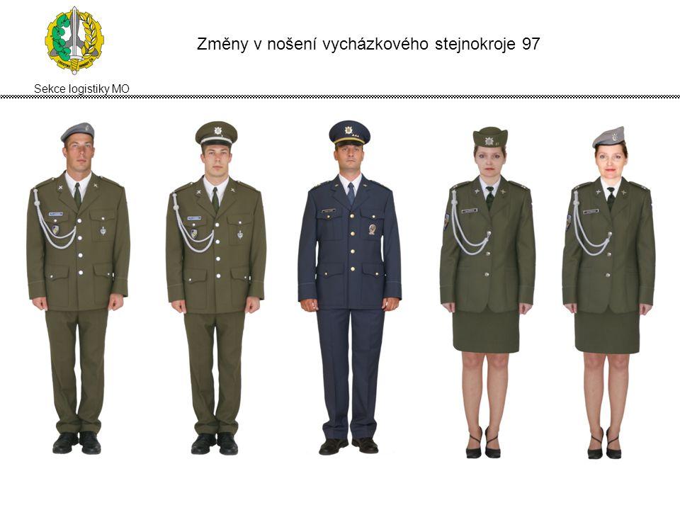 Sekce logistiky MO Změny v nošení vycházkového letního stejnokroje 2005