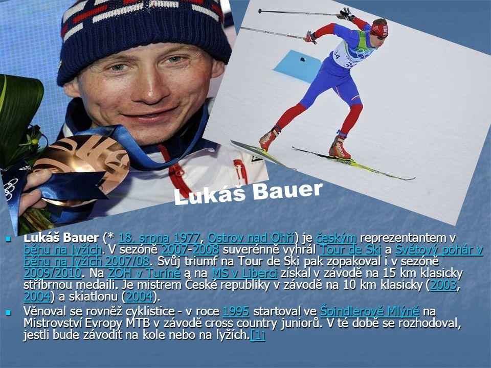Lukáš Bauer (* 18. srpna 1977, Ostrov nad Ohří) je českým reprezentantem v běhu na lyžích.