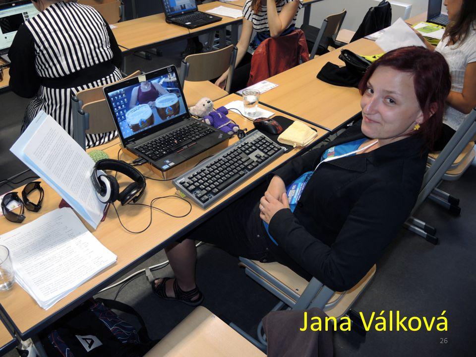 Jana Válková 26