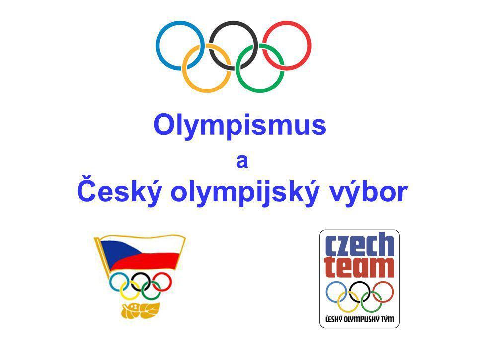 a Český olympijský výbor Olympismus
