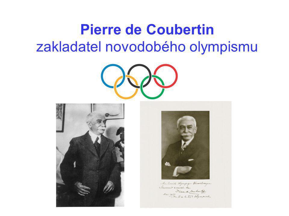 """""""Cílem olympijského hnutí je přispívat k budování mírového a lepšího světa výchovou mládeže prostřednictvím sportu provozovaným bez jakékoliv diskriminace a v olympijském duchu, to je spojením vzájemného porozumění, solidarity a fair play """"Činnost olympijského hnutí je symbolizovaná pěti propojenými kruhy a je trvalá a celosvětová."""